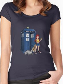 Lost In Space And Time Women's Fitted Scoop T-Shirt