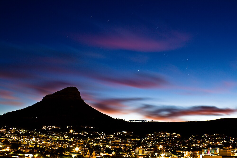 cape town by night by MrTim