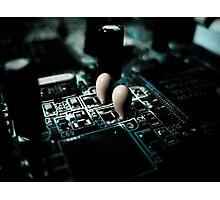 Electronic Romance Photographic Print