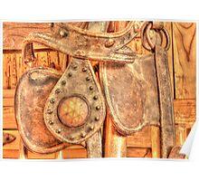Antique Bridle Poster