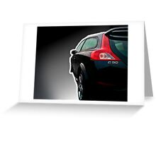 Volvo C30 R-Design  Greeting Card