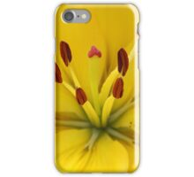Bright Yellow Lily iPhone Case/Skin