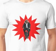 damon albarn riding a bike Unisex T-Shirt