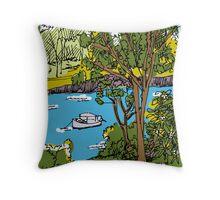 River Drive 4 Throw Pillow