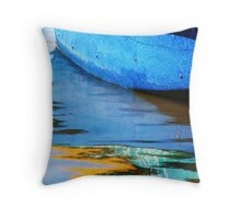 Omer's Boat Throw Pillow