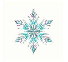 Signature Snowflake Art Print