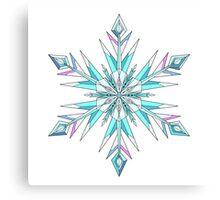 Signature Snowflake Canvas Print
