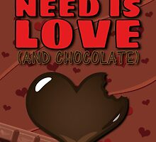 All You Need is Love (And Chocolate) by callmeberty