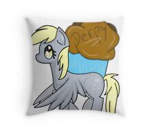 Derpy Hooves Throw Pillow