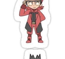 Team Magma Maxie Stickers Sticker