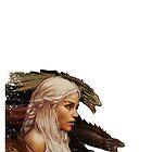 Mother of Dragons - Daenerys Targaryen by elektro