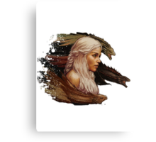 Mother of Dragons - Daenerys Targaryen Canvas Print