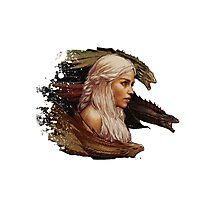 Mother of Dragons - Daenerys Targaryen Photographic Print
