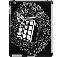 Flight of the Tardis  iPad Case/Skin