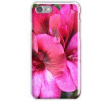 Lilac Geraniums iPhone Case/Skin