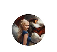 Daenerys Targaryen - Mother Dragons by elektro