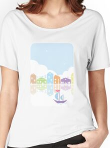 Dreamy landscape t-shirt Women's Relaxed Fit T-Shirt