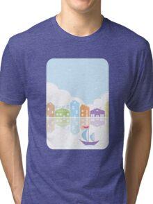 Dreamy landscape t-shirt Tri-blend T-Shirt