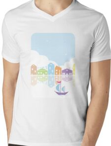 Dreamy landscape t-shirt Mens V-Neck T-Shirt