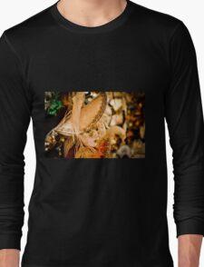 Doll Mask Long Sleeve T-Shirt