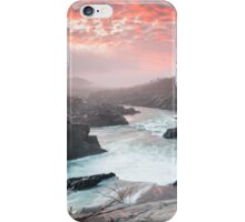 Great Falls Potomac River Mather Gorge Sunrise iPhone Case/Skin