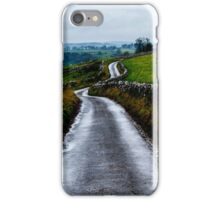 An English Country Road, Peak District iPhone Case/Skin