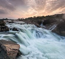 Great Falls on the Potomac River by MarkVanDyke