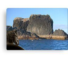 888A-Big Rock Canvas Print