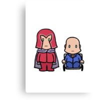 X-MEN - Magneto & Xavier Canvas Print