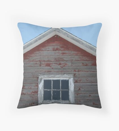 Grain Shed Throw Pillow
