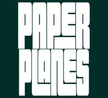 Paper Planes [White Ink] | OG Collection by FreshThreadShop