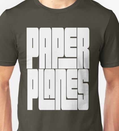Paper Planes [White Ink] | OG Collection Unisex T-Shirt