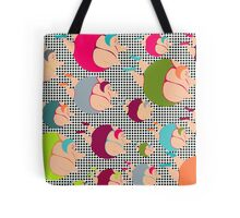 Synchronised Spotty Swimmers Tote Bag