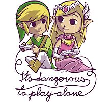 It's dangerous to play alone by Laharl