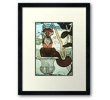 """You Sly Devil, You..."" Framed Print"