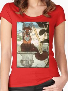 """""""You Sly Devil, You..."""" Women's Fitted Scoop T-Shirt"""