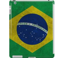 Grunge Brazilian Flag iPad Case/Skin