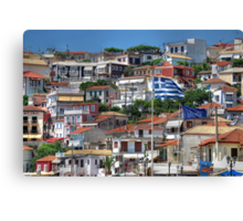 Hill of Houses Canvas Print