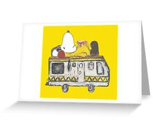 Snoopy Breaking Bad Greeting Card