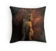 Portrait of Coco Throw Pillow