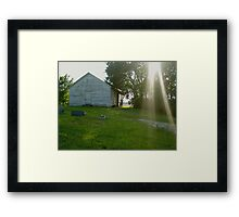 Davis Chapel Framed Print