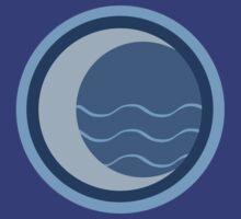 Minimalist Water Tribe Emblem by Telluric
