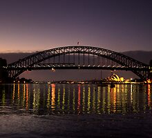 Reflections In Time - Moods Of A City # 43- Sydney Australia by Philip Johnson