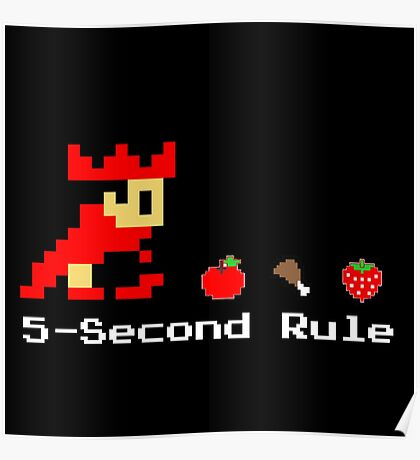 5-Second Rule Poster