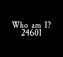 Les Miserables - Who Am I? 24601 by GoodbyeMrChris