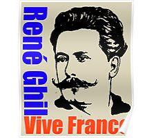 René Ghil Poster