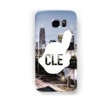 CLE Skyline Chief Wahoo Samsung Galaxy Case/Skin