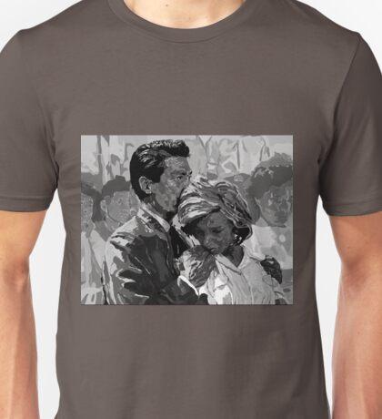 Hiroshima Mon Amour 'You Saw Nothing' - Digital Portrait Unisex T-Shirt