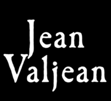 Les Miserables - Jean Valjean Sticker