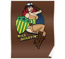 Miss Behave Poster